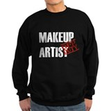 Off Duty Makeup Artist Sweatshirt
