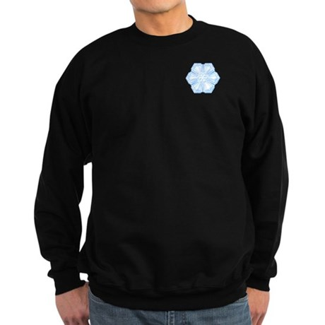 Flurry Snowflake II Sweatshirt (dark)