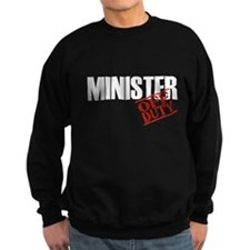 Off Duty Minister Sweatshirt