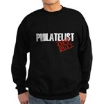 Off Duty Philatelist Sweatshirt (dark)