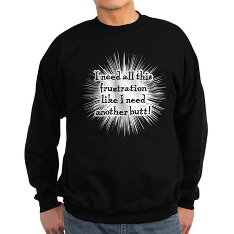 Frustration Sweatshirt (dark)