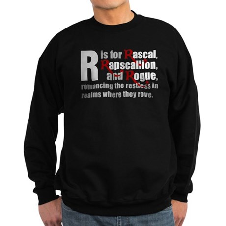 R is for Rascal Sweatshirt (dark)