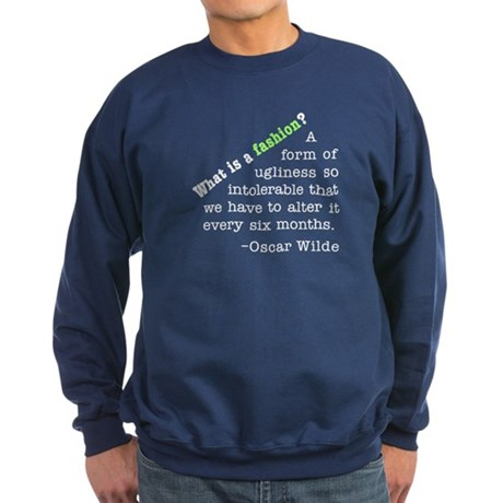 Wilde About Fashion Sweatshirt (dark)