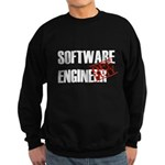 Off Duty Software Engineer Sweatshirt (dark)