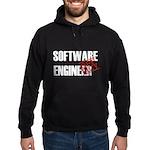 Off Duty Software Engineer Hoodie (dark)