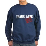 Off Duty Translator Jumper Sweater