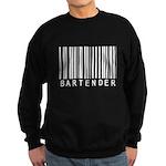 Bartender Barcode Sweatshirt (dark)