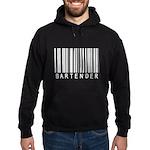 Bartender Barcode Hoodie (dark)