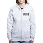 Chiropractor Barcode Women's Zip Hoodie