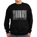 Mortician Barcode Sweatshirt (dark)