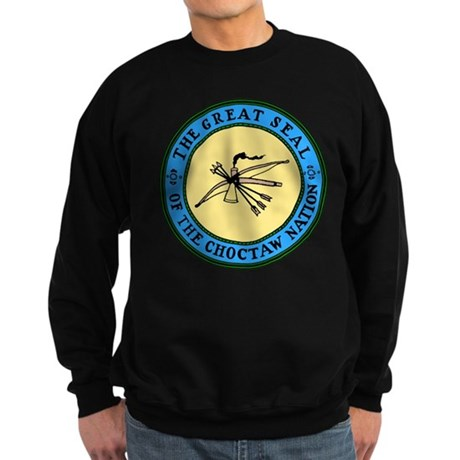 Great Seal of the Choctaw Sweatshirt (dark)