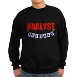 Retired Analyst Sweatshirt (dark)