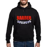 Retired Barber Hoodie (dark)