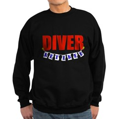 Retired Diver Sweatshirt (dark)
