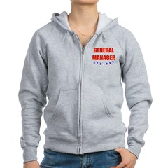 Retired General Manager Women's Zip Hoodie