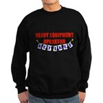 Retired Heavy Equipment Opera Sweatshirt (dark)
