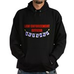 Retired Law Enforcement Offic Hoodie (dark)