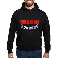 Retired Mailman Hoodie (dark)