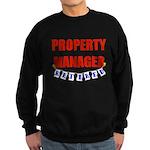 Retired Property Manager Sweatshirt (dark)