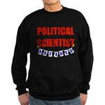 Retired Political Scientist Sweatshirt (dark)
