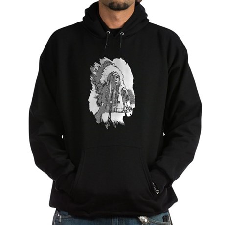 Indian Chief Hoodie (dark)