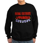 Retired Real Estate Appraiser Sweatshirt (dark)