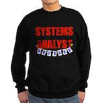 Retired Systems Analyst Sweatshirt (dark)