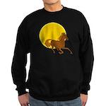 Sunset Horse Sweatshirt (dark)