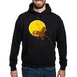 Sunset Horse Hoodie (dark)