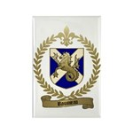 ROUSSEAU Family Crest Rectangle Magnet (100 pack)