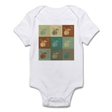 Drums Pop Art Infant Bodysuit