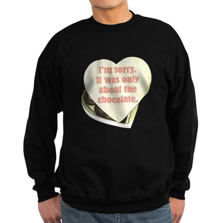 Chocolate Anti-Valentine Sweatshirt (dark)