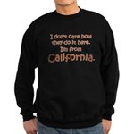 From California Sweatshirt (dark)