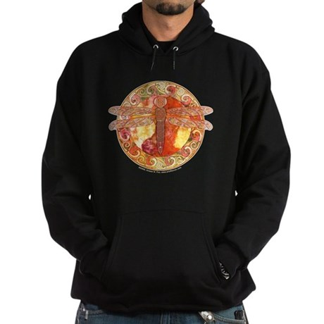 Hot Celtic Dragonfly Hoodie (dark)