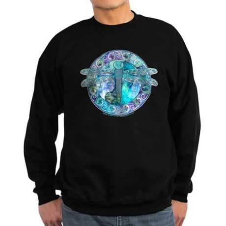 Cool Celtic Dragonfly Sweatshirt (dark)