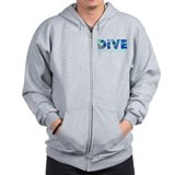 Dive Caymen Islands Zip Hoodie