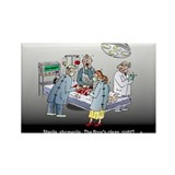Doctor Physician Humor Rectangle Magnet