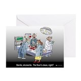 Doctor Physician Humor Greeting Cards (Pk of 10)