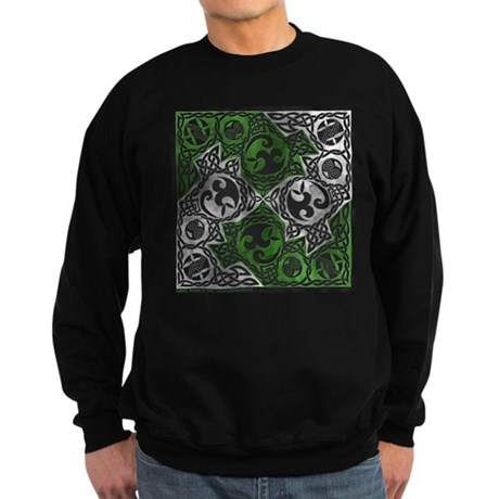 Celtic Puzzle Square Sweatshirt (dark)