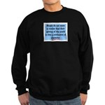EMERSON - CHARACTOR QUOTE Sweatshirt (dark)