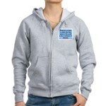 EMERSON - CHARACTOR QUOTE Women's Zip Hoodie