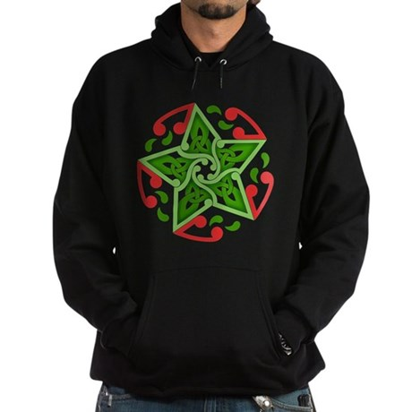 Celtic Christmas Star Hoodie (dark)