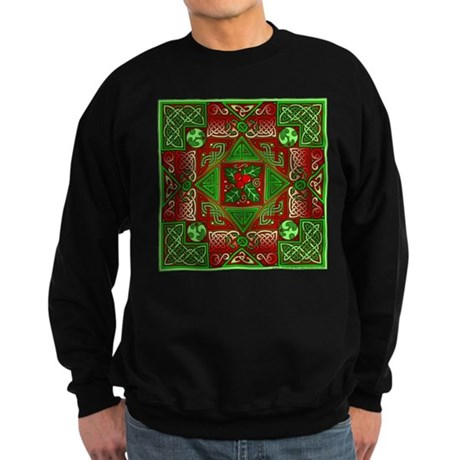 Celtic Labyrinth Holly Sweatshirt (dark)