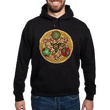 Celtic Reindeer Shield Hoodie