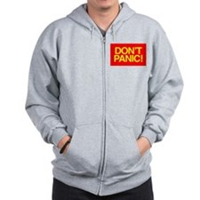 DON'T PANIC Zip Hoody