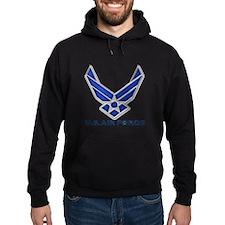 USAF 3 Diamond Symbol Hoodie