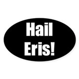 Hail Eris Oval Decal