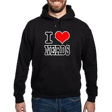 I Heart (Love) Nerds Hoodie