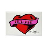 Edward Cullen Twilight Heart Rectangle Magnet (10