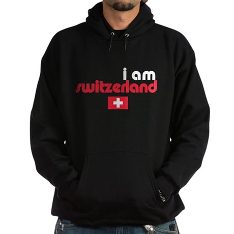 I Am Switzerland Hoodie (dark)